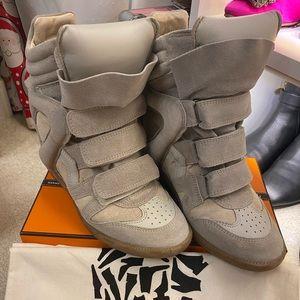 Isabel Marant Sneaker Wedges Etoile Beckett Sz 37